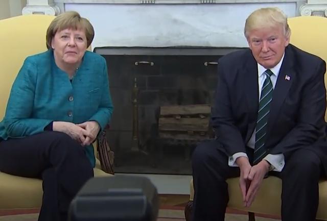 Analisi CNV: Tump e Merkel niente stretta di mano